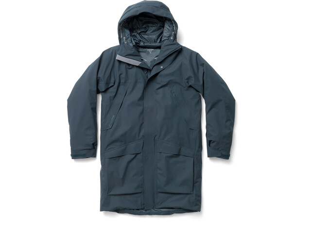Houdini Fall in Parka Homme, blue illusion